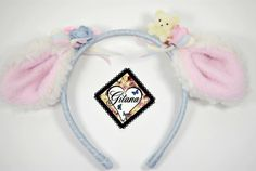 Lolita Baby Sheep Headband Lolita Headband by DesignsbyGitana