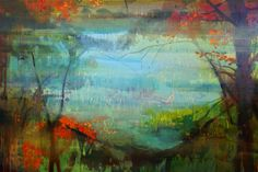 jacinda bayne Abstract Landscape Painting, Landscape Paintings, Countries Around The World, Around The Worlds, Perth Western Australia, Sense Of Place, Abstract Styles, Australian Artists, Oil On Canvas