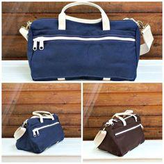 Messenger/Commuter Bag Cotton Canvas Made in USA