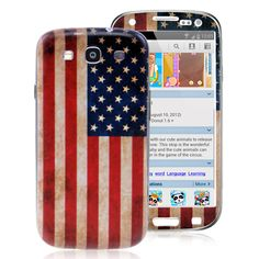 Samsung Galaxy S3 Case - America Flag