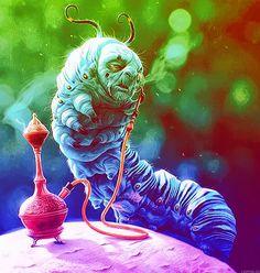cannabis art - art trippy weird weed smoke cannabis high acid psychedelic trip ...