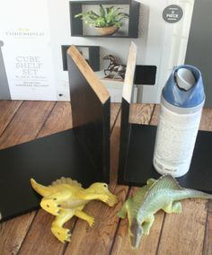 Making DIY Bookends #DIY #baby