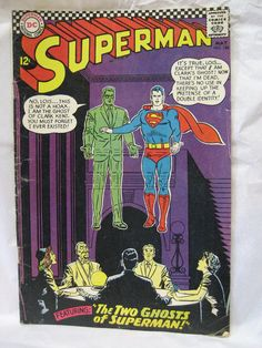 Superman Comic DC May 186 1965 VG by tenanthousevintage on Etsy, $22.00