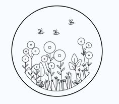 Hand Embroidery Patterns Flowers, Hand Embroidery Projects, Basic Embroidery Stitches, Hand Embroidery Videos, Embroidery Flowers Pattern, Creative Embroidery, Simple Embroidery, Embroidery Hoop Art, Cross Stitch Embroidery