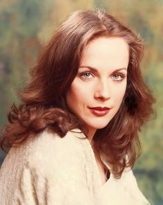 A studio portrait of Mary Tamm. I loved her Romana.