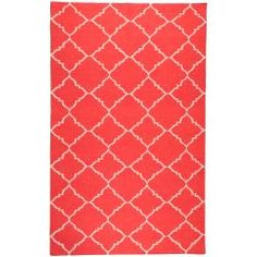 @Overstock - Hand-woven in wool, this rug features vibrant colors of brick red, taupe beige. With extravagant details and a one-of-a-kind design, this rug is the perfect addition to any home.http://www.overstock.com/Home-Garden/Hand-woven-Red-Wool-Biro-Rug-36-x-56/6562082/product.html?CID=214117 $101.99