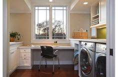 laundry room/computer room/office/mudroom combo?
