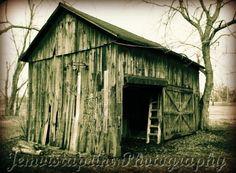 Grandpa's Barn No. 2 vintage barn photo art print by Jemvistaprint, $25.00