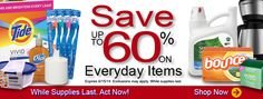 60% OFF on everyday items at http://topshopusa.zhuncity.com/store/featured/promo-one?page=1 Offer Expires on 9/15/2014 While supplies last