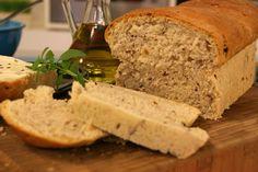 Pão de Forma de Nozes e Linhaça | Receitas | Dia Dia