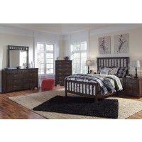 Strenton Full Bed, Dresser & Mirror