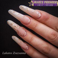Nails Premier 2014 ősz - Lakatos Zsuzsanna - Latte Ombre Step by Step
