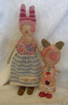 Julie Arkell Dolls 1 by tracy loves pink, via Flickr