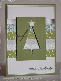Simple Christmas Cards, Christmas Card Crafts, Homemade Christmas Cards, Christmas Cards To Make, Xmas Cards, Homemade Cards, Holiday Cards, Christmas Ideas, Christmas Christmas