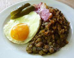 Pomalý hrnec: Čočka na kyselo v pomalém hrnci Multicooker, Crockpot, Slow Cooker, Cooking Recipes, Gluten Free, Beef, Baking, Breakfast, Ethnic Recipes