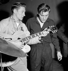 Scotty Moore 1931 - 2016: The guitarist who made 'the King' rock | Obituaries | News | Daily Express
