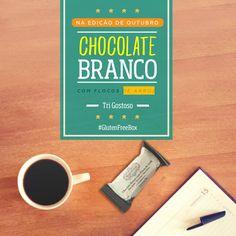 Chocolate Branco - Tri Gostoso