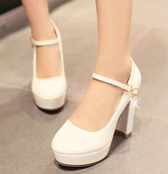 Sweet paint small yards 32 33 high heels nightclub wedding shoes bride thick plus size 40-43 single shoes women work shoes