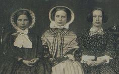 DAGUERREOTYPE THREE GRACES AMERICAN BEAUTY GIRL WOMEN FINE MUSEUM QUALITY  PHOTO