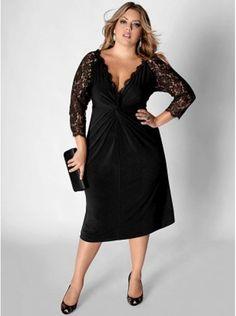 plus size black dresses 03339718