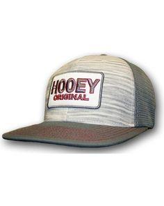 b659371e533 HOOey Men s Grey Original Logo Trucker Hat