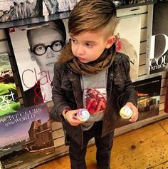 So, my future boy will have this haircut. Adorable!