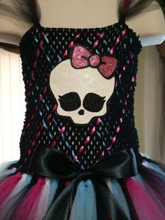 Monster High tutu dress Monster High inspired by DressUpDreamland