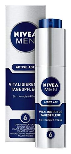 Nivea Men Active Age Vitalisierende Tagespflege, 1er Pack (1 x 50 ml):  #Beauty  #Gesicht Age, Skin Cream, Packing, Beauty, Make A Donation, Nursing Care, Face, Bag Packaging, Beauty Illustration