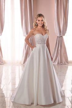 9bfe15cf81be8  lasposa  pronovias. feminin Braut- und Abendmode · Brautkleider · Bliss  Bridal Salon