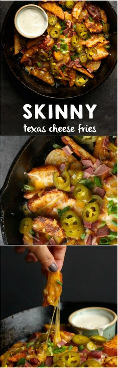 Skinny Texas Cheese Fries are the ultimate snack food that you don't have to feel guilty about...x