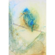 Kingfisher by Laura Wilson @ Mini Gallery - Watercolour Painting