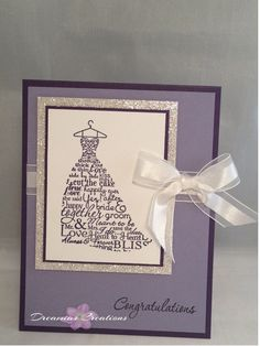 High quality Wedding card made with all by DreamiasCreations, $4.25