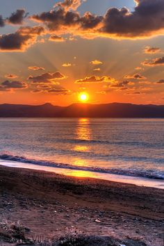 Sunset in Latchi, Paphos, Cyprus