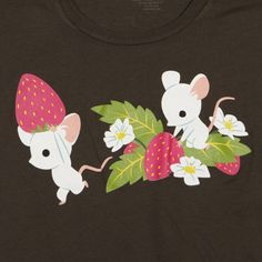 Strawberry Thief    Spring 2012 Wome's Tee  $28.00