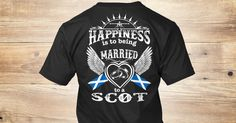 Married To A Scot T-Shirt from LOVE SCOTLAND &lts  , a custom product made just for you by Teespring. With world-class production and customer support, your satisfaction is guaranteed.