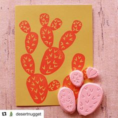 Build you own cactus stamp