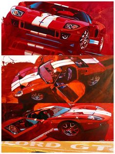 Ford GT sketching