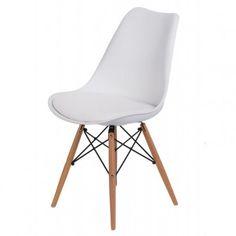 Krzesło Nord białe - MIA home passion