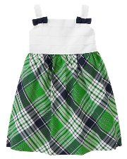 green & blue plaid dress (easter '12?) I would prob like this more in diff colors, but love the pattern/style.
