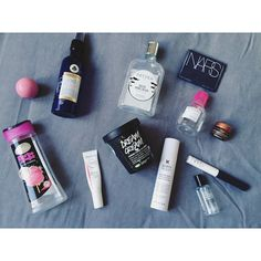 Blog - The New Blacck - produits terminés - Lush - Patyka - NARS - Bioderma
