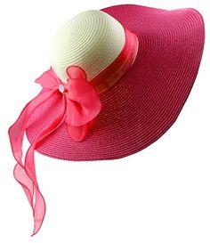 Kaisifei Bowknot Casual Straw Women Summer Hats Big Wide Brim Beach Hat (Rose Red) Kaisifei http://www.amazon.com/dp/B00ZACFA9E/ref=cm_sw_r_pi_dp_J6hOvb1KNY8BF