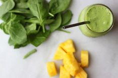 simple green protein smoothie