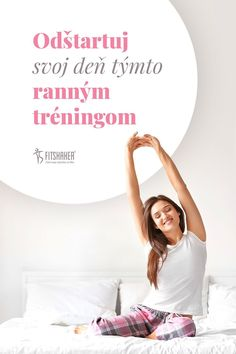 Výhodou vstávania skôr môže byť aj v tom, že zatiaľ čo ostatní ešte spia, ty môžeš mať za sebou efektívny ranný tréning. Napríklad takýto. Pozri v článku. #cvicimdoma #trening