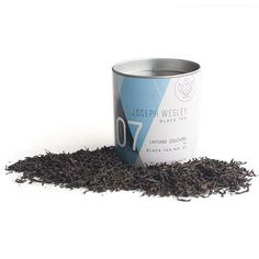 Joseph Wesley's Black Tea No. 7 is a malty, robust, full-bodied tea that is as sensual in its appearance as it is seductive in its taste and aroma. A uniquely crafted iteration of the famous and oldest of all Chinese black teas Lapsang Souchong, this tea beautifully balances its smoky undertones with rich malty plum and chocolate overtones. Harvested in the famed tea gardens of the Wu Yi Shan rock cliffs and crafted by the tea masters of the Tong Cheng Village in China's Fujian Province…