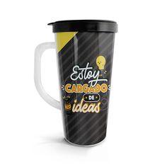 Vasito viajero – Cargado de ideas, encuentra este producto en nuestra tienda online. Travel Mug, Mugs, Tableware, Ideas, Vase, Siempre Contigo, Store, Dinnerware, Tumblers