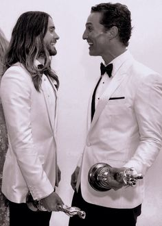 Jared Leto and Matthew McConaughey Oscar 2014 best actors