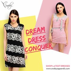 The #DreamDress Conquer has a creative set of attires that can give you a stylish and outgoing look.