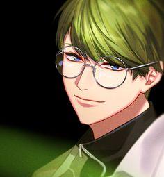 A3! VIVID SPRING EP | A3! SEASON SONGS / VIVID SEASON特設サイト Anime Teen, Anime Guys, Green Characters, Anime Characters, Seasons Song, Digimon Tamers, Cyberpunk Art, Cute Anime Boy, Ensemble Stars