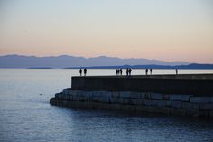 Walking the breakwater is a great activity time of year.  Quite close to E.H. - just head south on Douglas, and hard right when you hit the ocean!