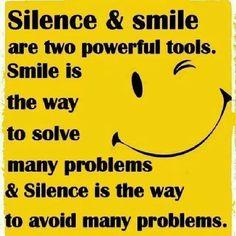 silence is golden | Silence is golden